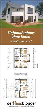 Dieses Satteldachhaus mit einer Wohnfläche von knapp 157 m² habe ich zusammen