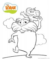 Dr Seuss The Lorax Coloring Pages 7