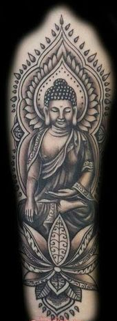 50 brillante Buddha Tattoos und Ideen mit Bedeutung