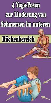 4 Yoga-Posen zur Linderung von Schmerzen im unteren Rückenbereich