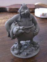 Obelix Sculpture By Yotaro Sculpts