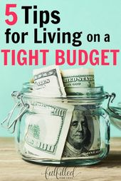 How to Live On a Tight Budget