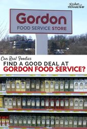 Can Actual Foodies Discover Good Offers at Gordon Meals Service?