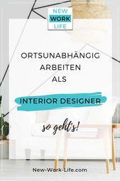 Die große Interviewreihe für ortsunabhängige Jobs +++ Heute: VIRTUELLER INTERIOR DESIGNER WERDEN