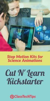 Stop Motion Kits for Science Animations Cut N' Learn Kickstarter – Class Tech Tips