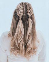 70 Super Easy DIY Hairstyle Ideas For Medium Length Hair | Ecemella #braidedhair … 70 Super Easy DIY Hairstyle Ideas For Medium Length Hair Ecemella …