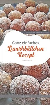Very simple quarkballs recipe