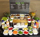 Ultimate Salad Bar – Foods to Serve – Moms & Munchkins