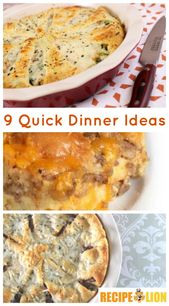 9 Ideen für ein schnelles Abendessen 10-teiliges Swiss Diamond Kochgeschirrset   – Dinner ideas
