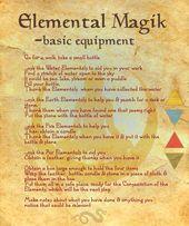 Elemental Magic (suite à la BoS 15 page 1) Commencez par Elemental Magik – premier …   – Tarot