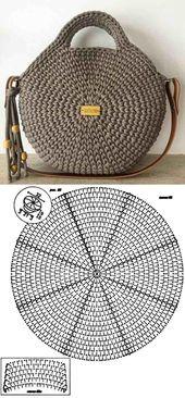Machen Sie und profitieren Sie: 26 Modelle von Häkeltasche mit Grafik