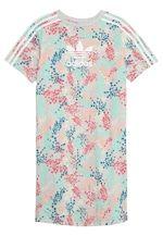 Tee Dress Jerseykjoler Multicolor White Zalando Dk Adidas Originals Damemode Herremode