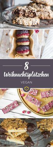 12 vegane Kekse für Weihnachten & einen knusprigen Advent   – Lecker