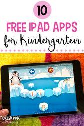 10 Free iPad Apps for Kindergarten