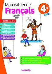 Pdf Gratuitement Livre Mon Cahier De Francais 4e Francais Pdf Par Poche Tous Les Ebooks Gratuits