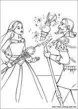 Barbie And The Magic Of Pegasus Coloring Pages On Book