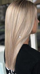 Coiffure #haarkleur #haarstijl #haar #redges – Lange Kapsel