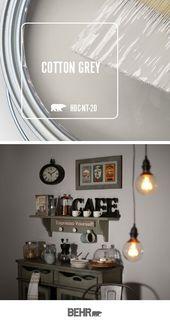 Trend Color Spotlight: Cotton Grey – Colorfully, BEHR