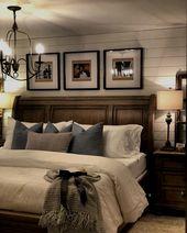 Pretty master bedroom design. Source: www.instagram.com…