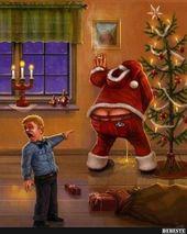 Photo of Betrunkener Weihnachtsmann .. | Lustige Bilder, Sprüche, Witze, echt witzig