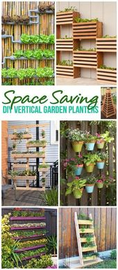 {The BEST} DIY Vertical Gardens for Small Spaces   – Gardening