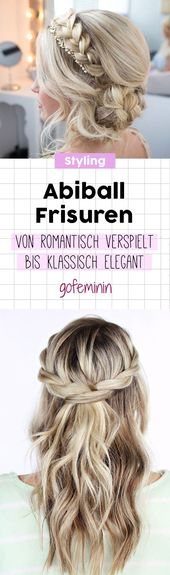 Festive do-it-yourself hairstyles – 3 ideas with instructions – New hairstyles