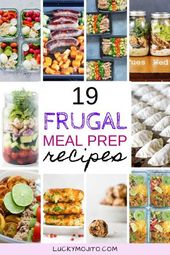 19 Meal Prep Recipes on a Budget (SAVE TIME & MONEY