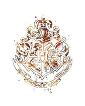 Hogwarts emblem watercolor art Harry Potter love Harry Potter? ch