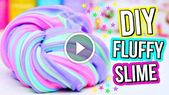 DIY Slime What's better than slime? FLUFFY slime of course!! This craft video tutorial...