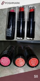 Lot of three moist n wild lipsticks That is solely bought as numerous 3. Moist n wild lipsti…