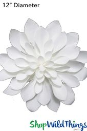 Fabulous Flowers Our Giant Paper Dahlia Makes It Easy To Create Visually Stunning Decor Anywhere You Need A P Paper Flowers Flower Wall Flower Wall Backdrop
