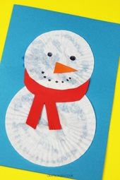 Christmas Cards for Kids: Snowman
