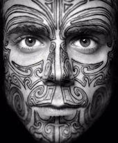 90 Gesichtstattoos für Männer – Masculine Design Ideas – #buddyblogideas   Tätowierungen   T …