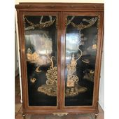 Late '800 – Early '900 French Louis XVI Chinoiserie Armoire   – Dream Home – Dining Room