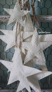 Paper Star Garland, 4th of July Party Backdrop, Patriotic Theme, Boho Wall Decor, Farmhouse Style, Nursery Accent, Stargazing, Wedding Prop