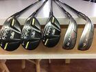 Adams Idea Tech V3 456 Hybrids 89 Irons Rh Lite Flex Graphite 5 Club Set Golf Golf Club Head Covers Flex Ironing Set