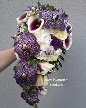 Brautstrauß mit Orchideen    – Brautstrauss