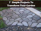 Ein begeisterter DIY-Fan? Verwandeln Sie Ihren Garten mit diesen konkreten Projekten! – Ideas for the House