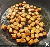 Receita básica de tofu frito crocante   – vegetarische Rezepte