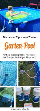 Ein kleiner Swimmingpool für den Garten? DAS solltet ihr VORHER wissen  – Mamablogger – die Pinterest Gruppe
