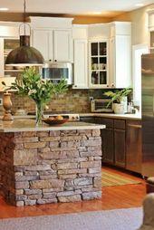 Die moderne Kochinsel in der Küche- 20 verblüffende Ideen für Küchen Design