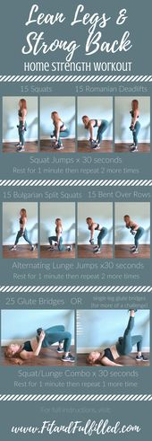 Build lean legs and a strong back with this dumbbell workout you can do at home …