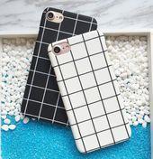 Ich rufe 6 Checker Fall – schwarz Iphone 8 Fall – Ide …