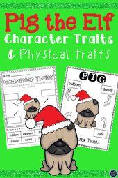 Schwein der Elf Charakterzüge Aktivitäten Bundle | Weihnachtsbuch Begleiter – Reading & Literacy