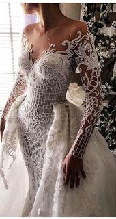 Long Sleeved Wedding Dresses: 20 Perfect Gowns for Brides