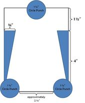 Baby Cards Here are the measurements for my baby onesie card featured here . In this tutori...
