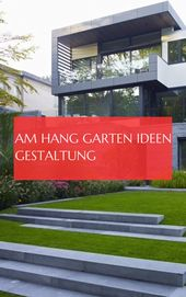 on the hang garden ideas design & #Hang #garden #Ideen #gestaltung 10.10.2019
