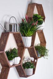 DIY Möbel – Wabenregal ganz leicht selbermachen! – Häuser und Einrichtung