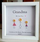 9 beste und personalisierte Geschenke für Oma #be…