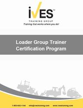 Equipment Operator Certification Card Template Best Of Loader Group Trainer Certification Ives Training Grou Card Template Card Templates Printable Templates